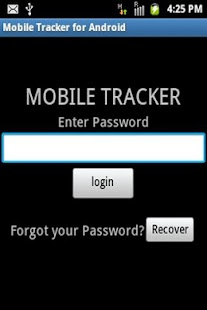 Mobile Tracker for Android - screenshot thumbnail