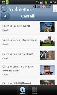 Architetture Piemonteitalia- screenshot thumbnail