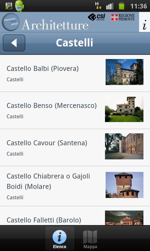 Architetture Piemonteitalia- screenshot