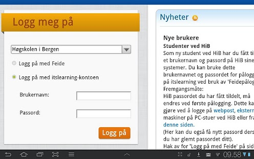 itslearning HIB - screenshot thumbnail