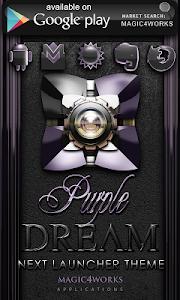Poweramp skin Purple Dream v1.40