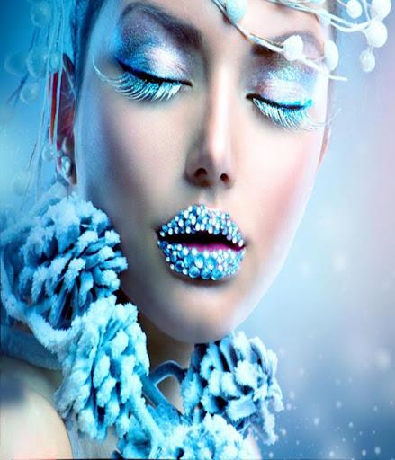 女人時尚彩妝