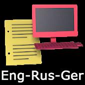 Eng-Rus-Ger Offline Translator