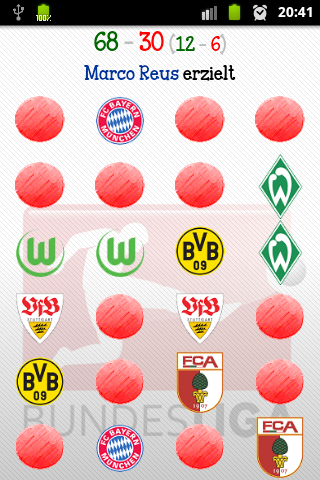Bundesliga Memory Game - screenshot