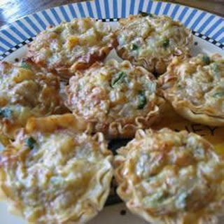 Mushroom and Stilton Tarts Recipe