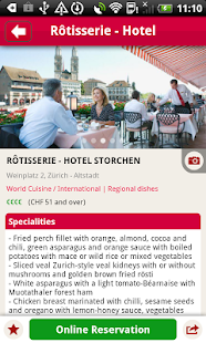 MyTable Restaurant Guide - screenshot thumbnail