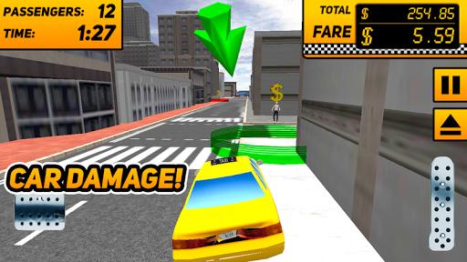 택시 드라이버 듀티시 3D 게임