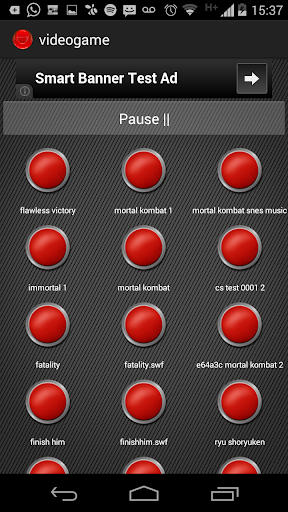 Instant Buttons Games