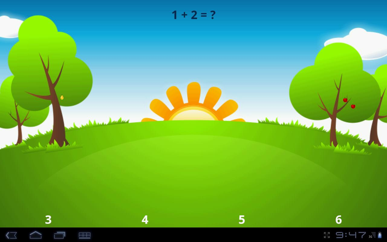 Math For Kids (demo) - screenshot