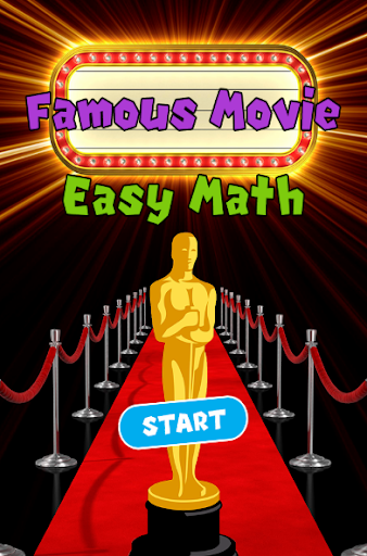 Famous Movies Easy Math