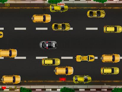 警方緊急車輛搶車:New-York酒店的出租車堵車的瘋狂 +