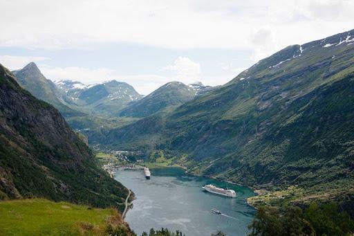 Geiranger-Fjord-Norway - Geiranger Fjord, Norway.
