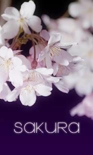 SAKURA Live Wallpaper - screenshot thumbnail