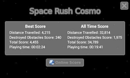 Space Rush Cosmo FREE - screenshot thumbnail