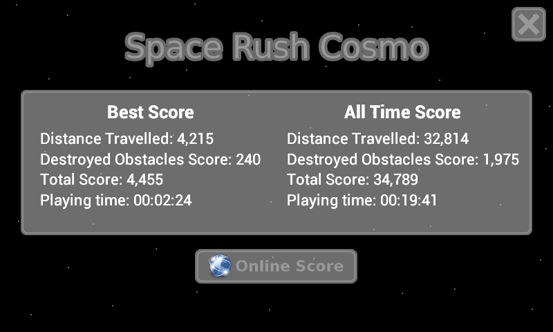 Space Rush Cosmo FREE- screenshot