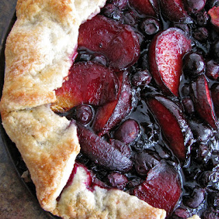 Blueberry Plum Galette