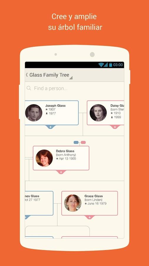 MyHeritage - screenshot