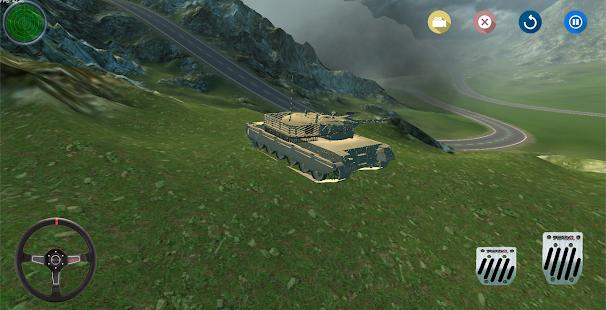 Tank Savaşı Oyunu 3D