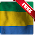 Gabon flag live wallpaper Free icon