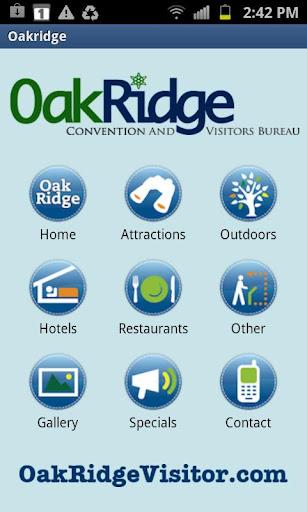 Oak Ridge Visitor's Bureau