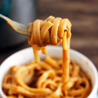 One Pot Pasta With Creamy Pumpkin Sauce
