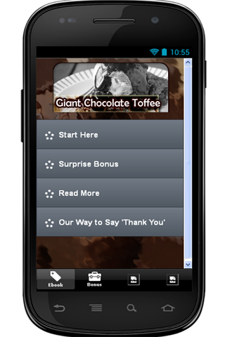 Giant Chocolate Toffee Recipe