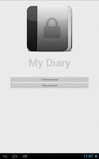 My Diary (gray)- screenshot thumbnail