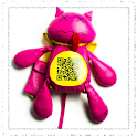 Shaking Pink Cat icon