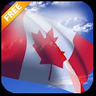 3D Canada Flag Live Wallpaper icon