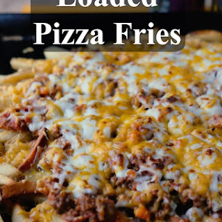Loaded Pizza Fries #EatWithWest #ChubbyChasingMission #CysticFibrosisAwareness.