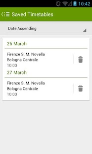 Trains Timetable Italy - screenshot thumbnail