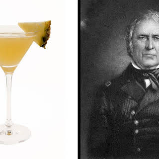Pineapple and Sage Martini.