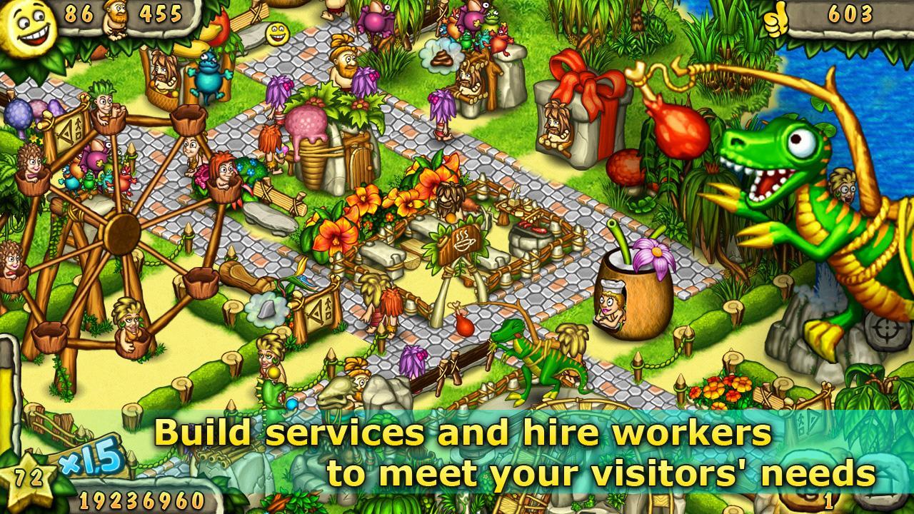Prehistoric Park Builder screenshot #11