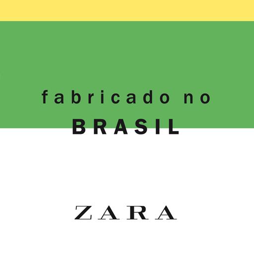 Zara - Fabricado no Brasil Icon