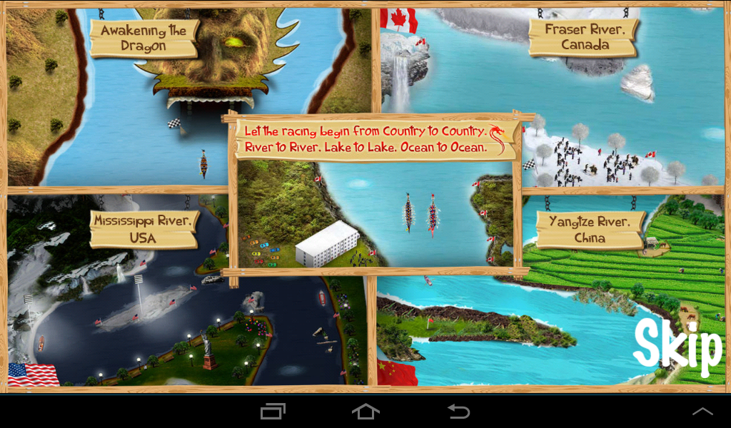 Dragon Boat Racing- screenshot