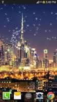 Screenshot of Dubai Night Live Wallpaper PRO