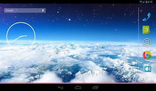 【免費媒體與影片App】地球大氣壁紙-APP點子
