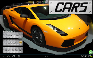 Screenshot of Cool Cars - Vote It!