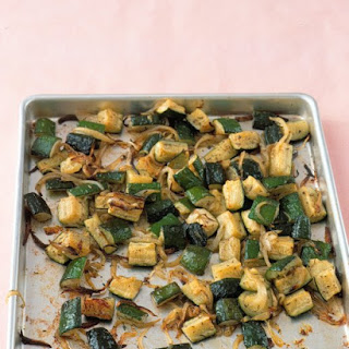 Roasted Zucchini With Thyme.