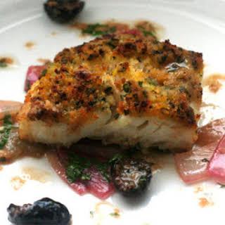 Sicilian-Style Baked Cod.