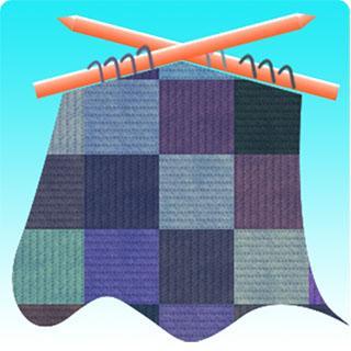 編織紙樣NO.N17 頸巾