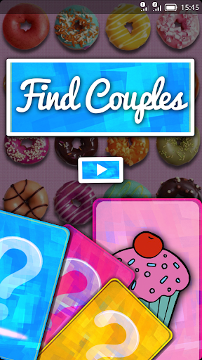 Find All Couples Game For Kids