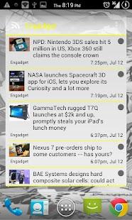 APW Yellow ICS Theme - screenshot thumbnail