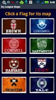 Screenshot of Ivy League Maps and Songs