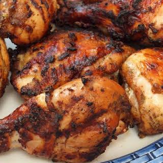 Grilled Jerk Chicken.