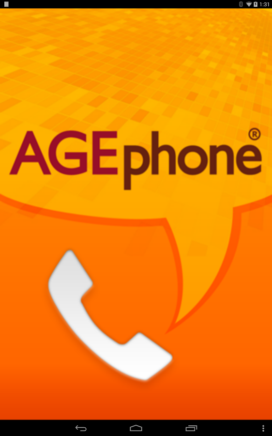 AGEphone - screenshot