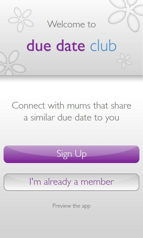 Due Date Club - screenshot