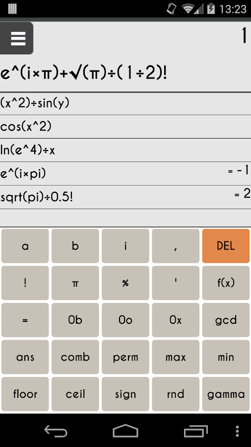 Scientific Calculator 3D Free- screenshot