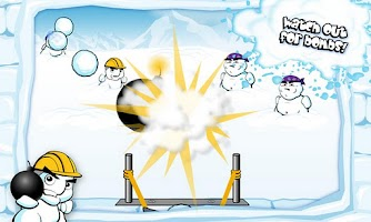 Screenshot of SnowBomber