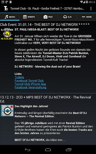 【免費音樂App】Tunnel Club-APP點子